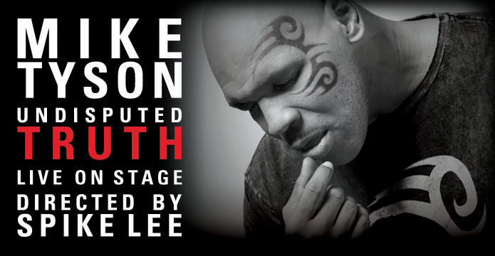 Mike Tyson: Undisputed Truth will be at Oakland's Fox Theater October 10