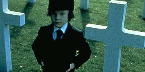 Harvey Stephens as Damien in the Omen / Twentieth Century Fox Films