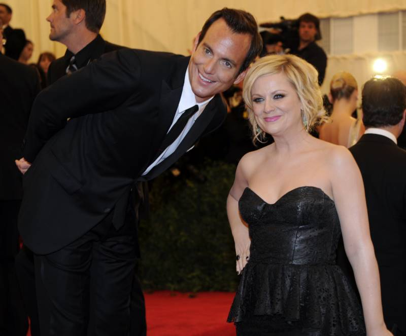 Amy Poehler and Will Arnett, May 2012.