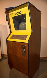 Pong cabinet. Image via Wikipedia Commons.