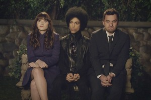 Still from Prince's appearance on New Girl via Fox