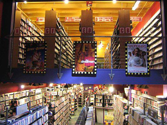 Aisles and aisles of movie magic