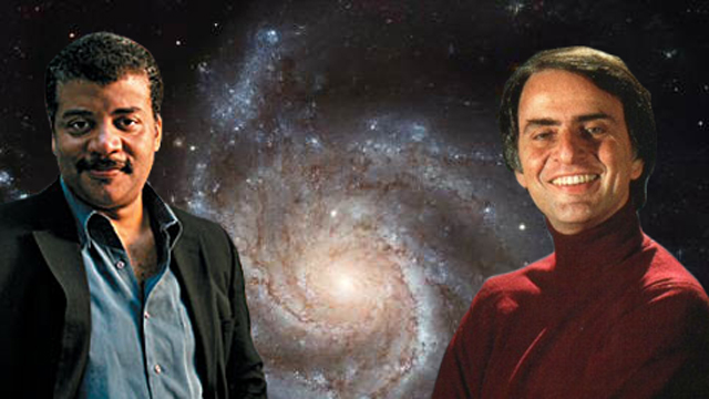 Can Neil deGrasse Tyson Inherit Carl Sagan's Role as an Advocate for Environmental Change?