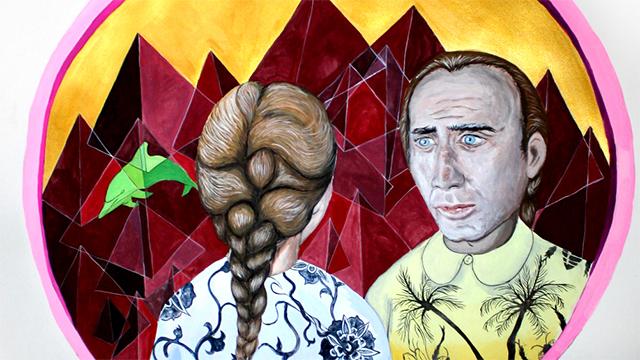 Nicolas Cage Themed Art Show Debuts in San Francisco