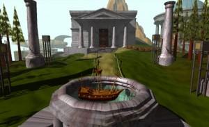 Screenshot from the game Myst (Cyan, 1993) (Image via Wikipedia)