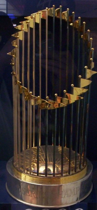 The World Series trophy. Photo: Wiki Commons