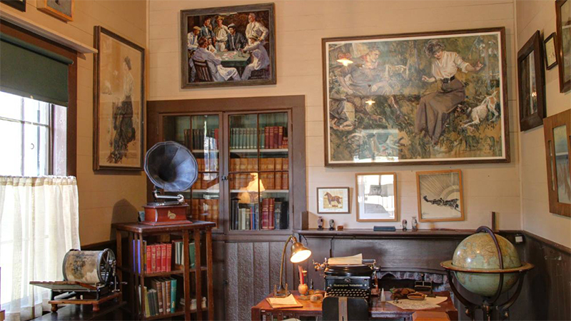 A Tour of Famous Writers' Homes in the Greater Bay Area
