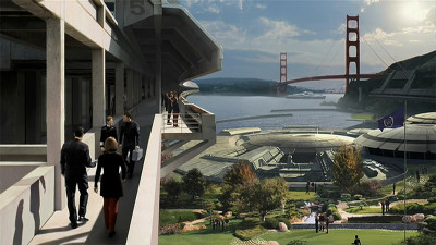 Starfleet Headquarters, San Francisco, 2151. Photo: MemoryAlpha