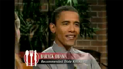 barack obama check please 2001