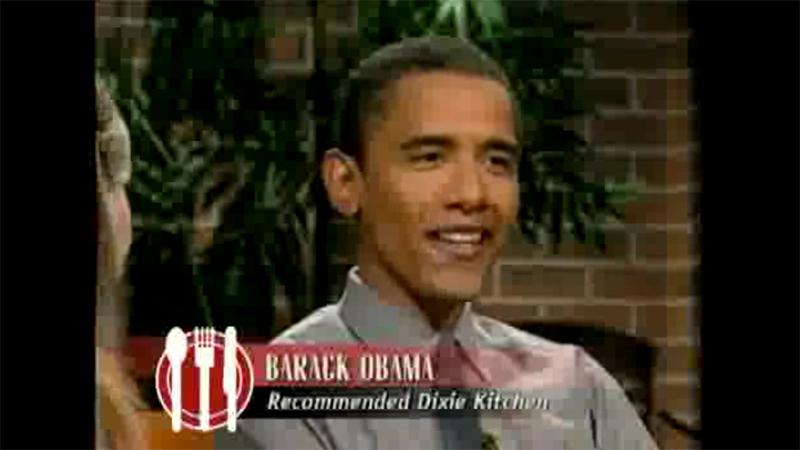 barack obama check please 2001