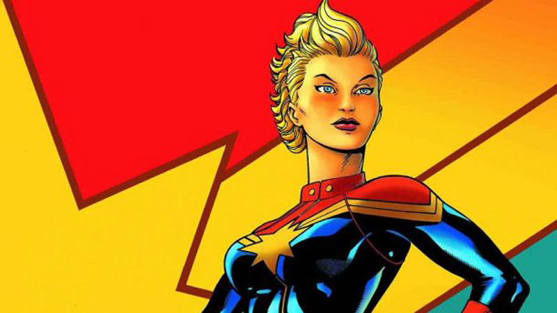 Captain Marvel: The Surprising History of How Female Superheroes Came to Be