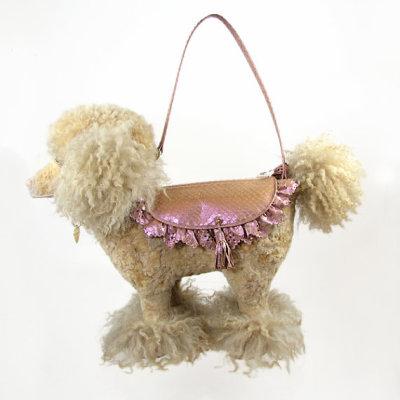 Photo: Honey Poodle Handbag by Basia Zarzycka, via Etsy