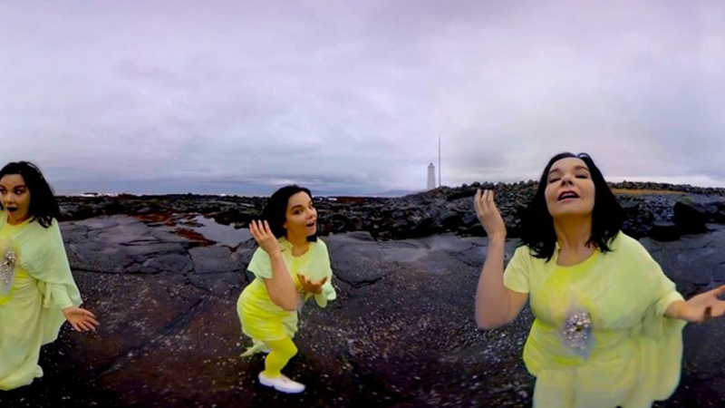 Bjork Unveils Videos From Her MoMA Exhibit, Including a 360 Degree Virtual Reality Experience