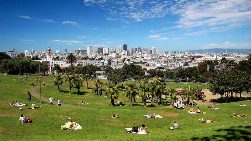 Time-Lapse: Watch Dolores Park Transform Before Your Eyes