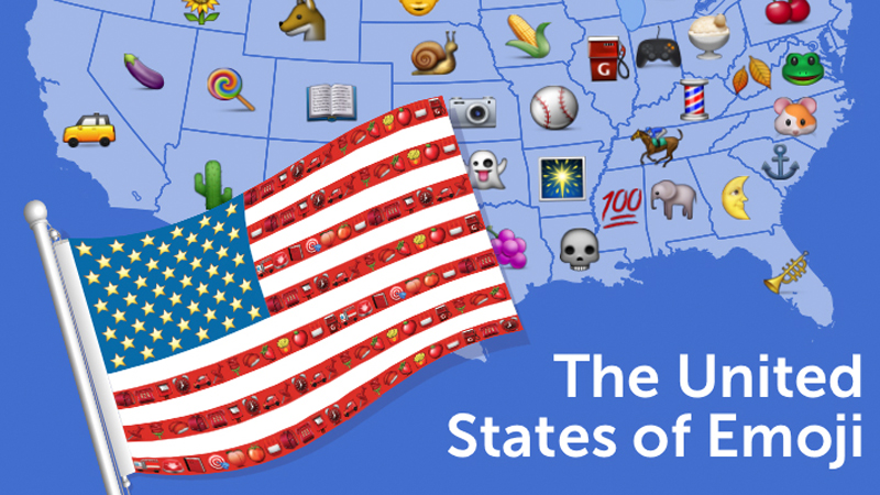MAP Making Sense Of Each States Most Popular Emoji KQED Pop - Emojis created real life still dont make sense