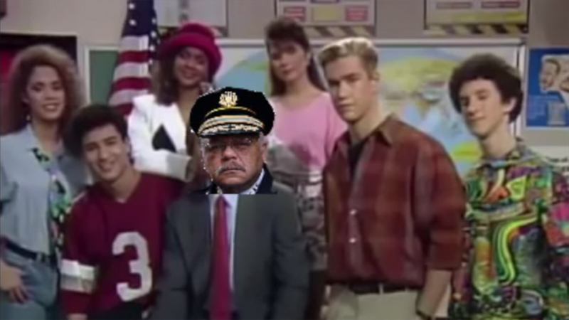 Philadelphia Police Dept. Goes Viral with Bizarre 'Saved By the Bell' PSA