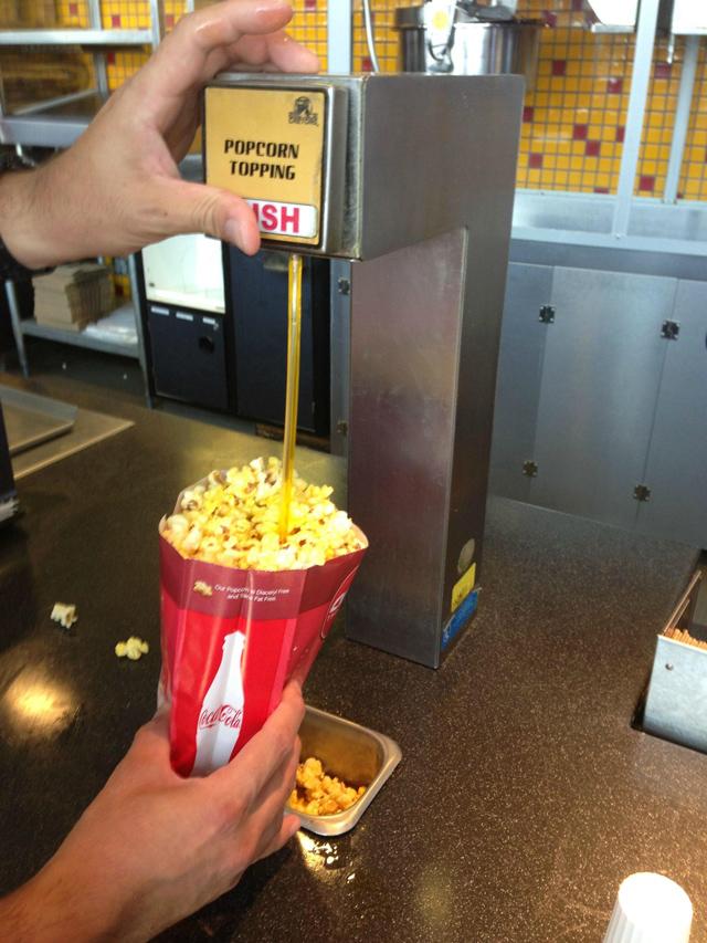 Movie Popcorn Fat 52