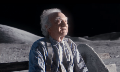 "John Lewis' ""man on the moon"" tearjerker."