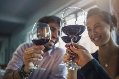 Millennials, with wine
