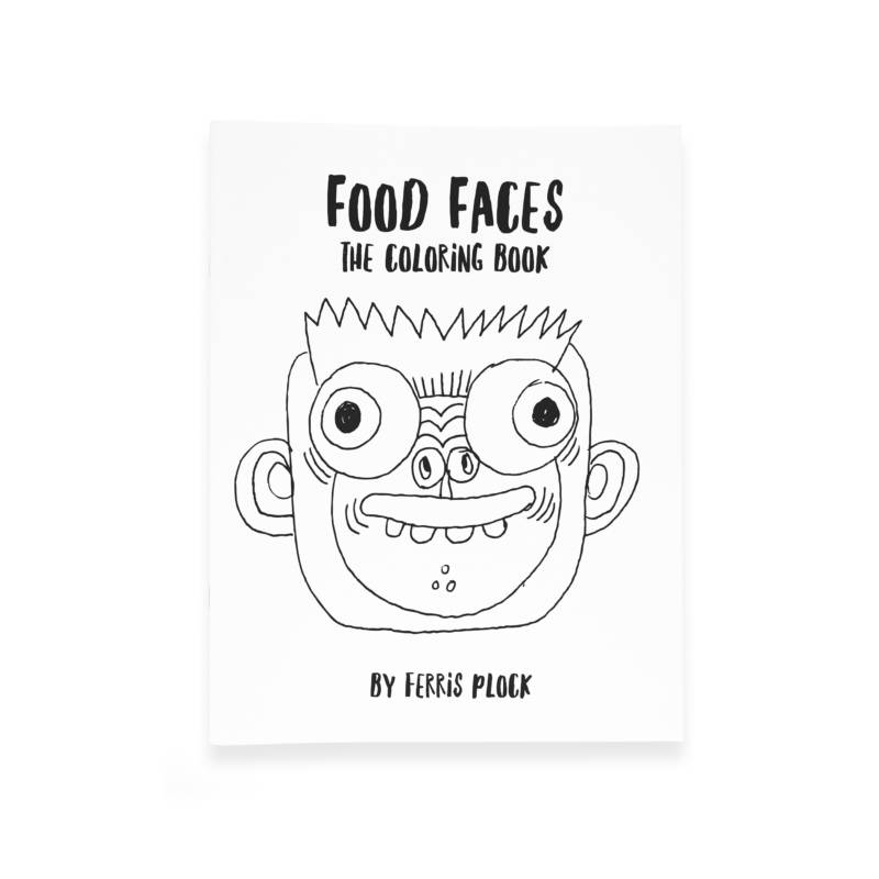 Food_Faces_Coloring_Book_Ferris_Plock_Day_Dreamers_Limited