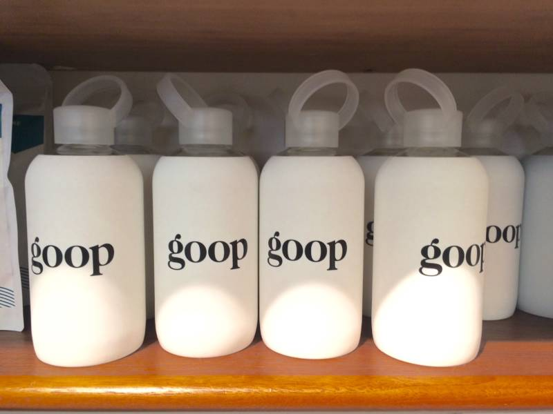 goop waterbottles for those goop workouts