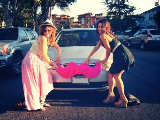These hip Lyft-affiliated Millennials know what's up!