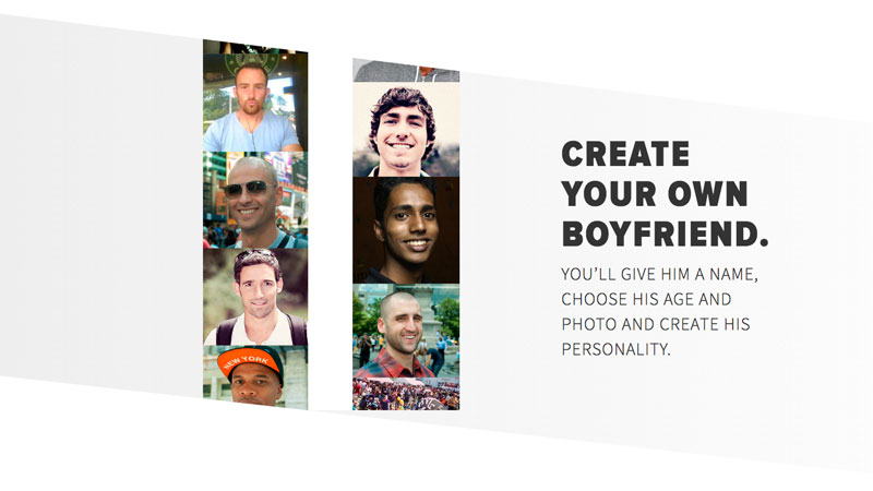 Want to Text Back and Forth with a Made-Up Significant Other? Try Invisible Boyfriend / Girlfriend