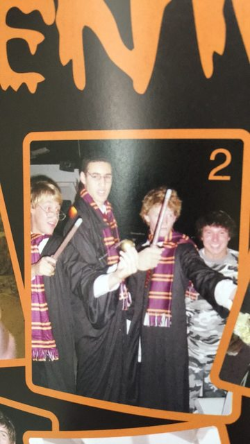 klay thompson harry potter wand costume high school
