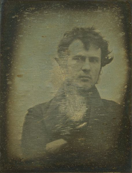 Self-Portrait by Robert Cornelius, 1839