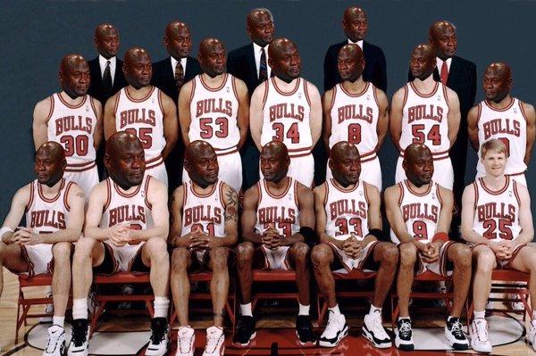 chicago bulls steve kerr 1996