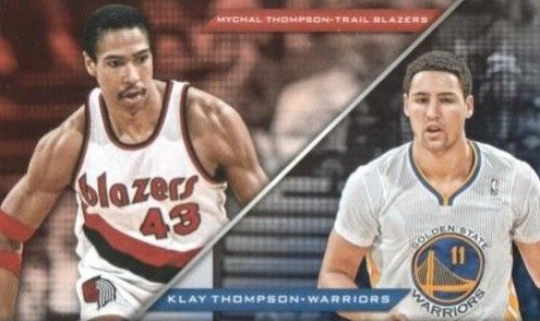 klay thompson dad