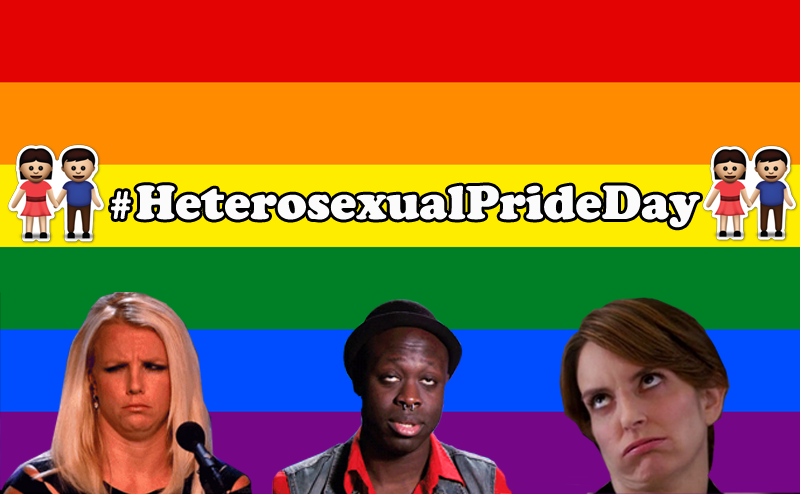 #HeterosexualPrideDay Proves We Can't Have Nice Things, Let Alone Hashtags