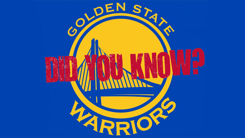 21 Fun Facts You Might Not Know About The Golden State Warriors Kqed