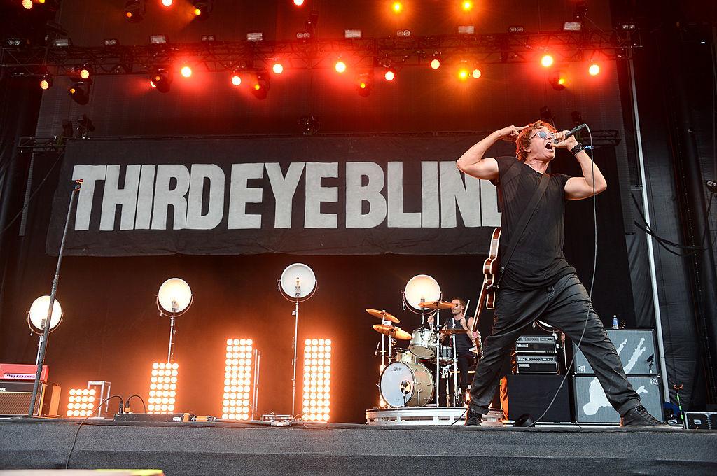 Stephan Jenkins of Third Eye Blind circa 2014.