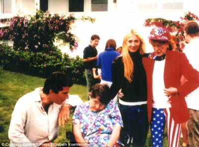 Rosemary with JFK Jr. and Carolyn Bessette-Kennedy.