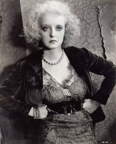 Bette Davis, slaying in Of Human Bondage.
