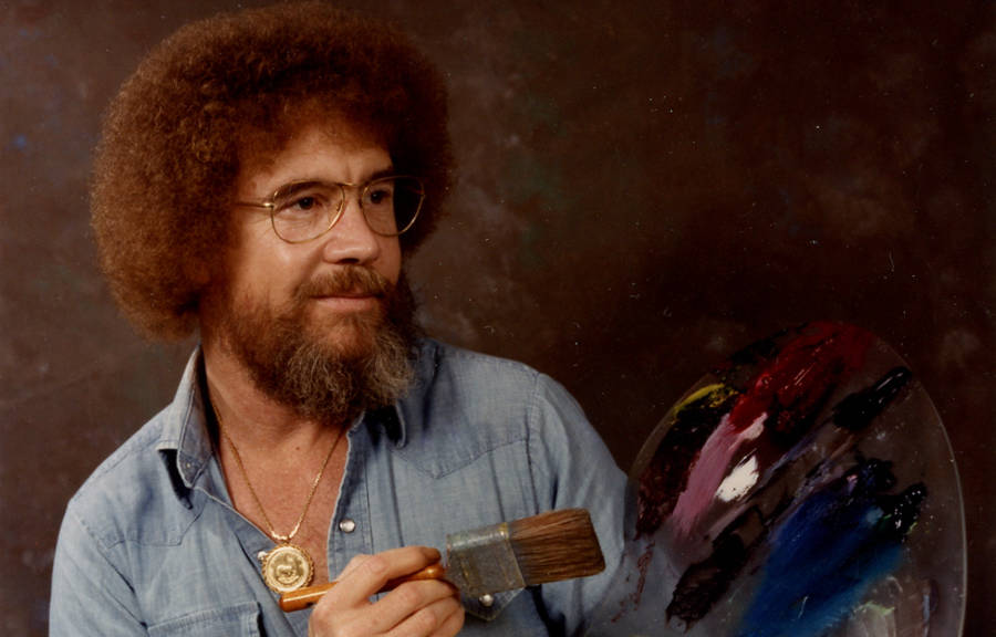 The real bob ross meet the meticulous artist behind those happy the real bob ross meet the meticulous artist behind those happy trees voltagebd Gallery