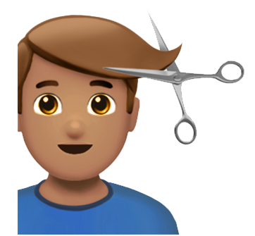 Image result for emojis haircut