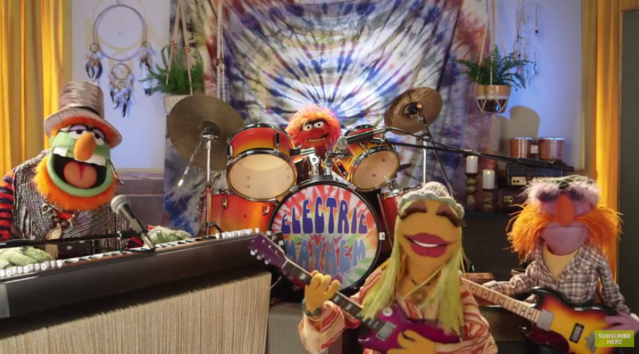 Here's Muppet Band Dr. Teeth and the Electric Mayhem Performing at Outside Lands