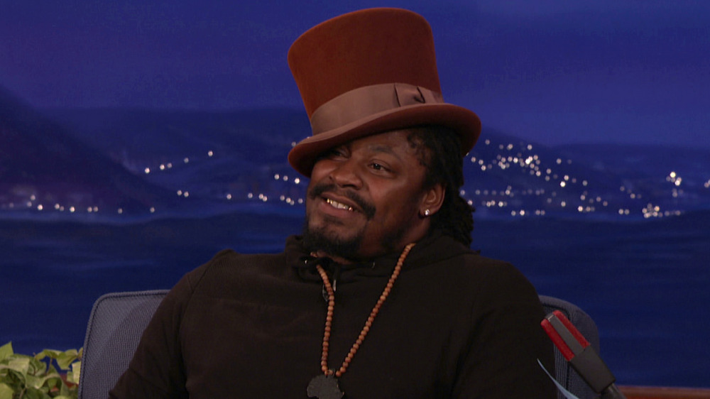 Celebrity Beastmode: Marshawn Lynch as the Candy Man