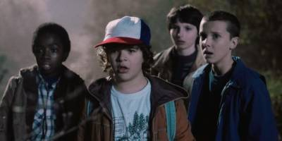 Plucky young kids being plucky in Stranger Things