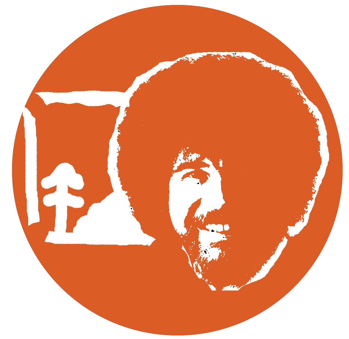 bob-ross-pumpkin