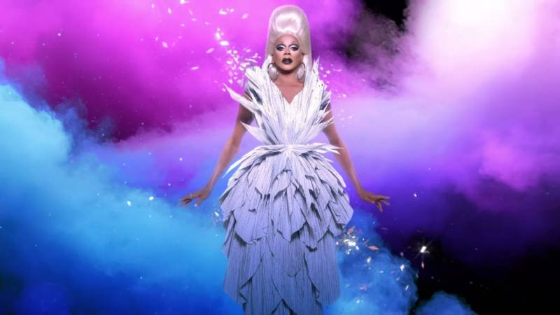 Still from RuPaul's Drag Race trailer. Photo: VH1 / Logo