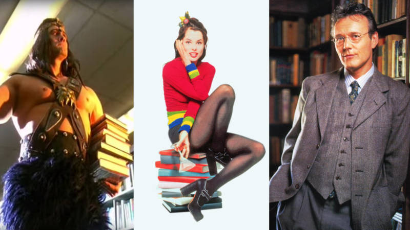 The Best Fictional Librarians from Popular Culture