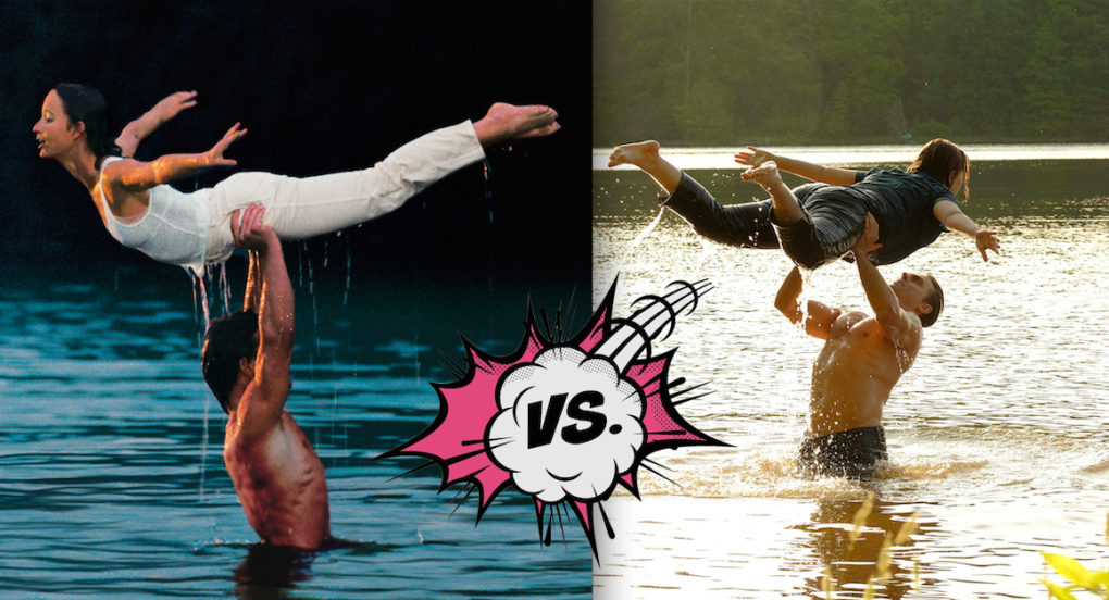 DD Split VS 1020x552 abc's 'dirty dancing' remake succeeded! in making all those