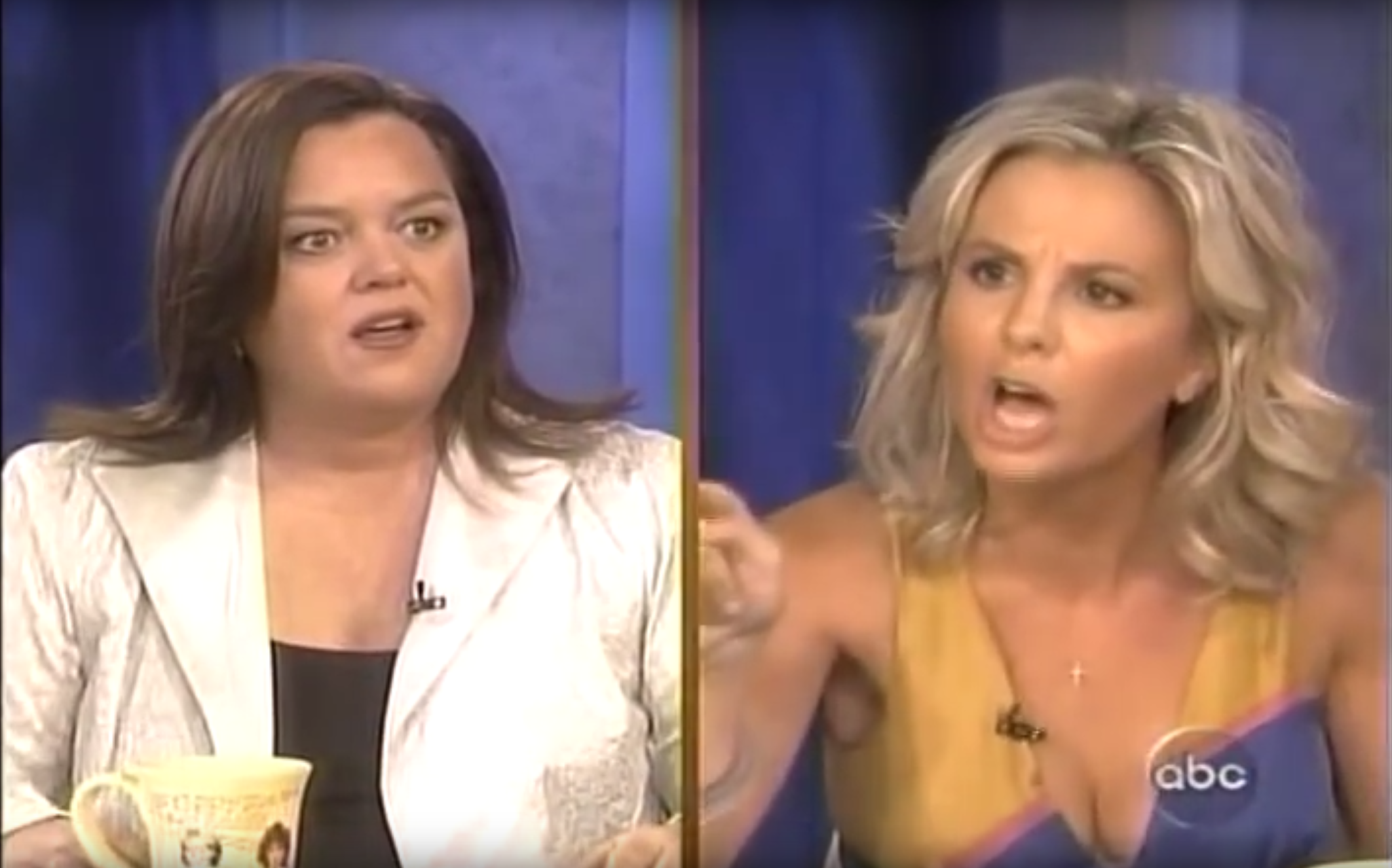 Rosie O'Donnell Elisabeth Hasselbeck: The War Is Over!