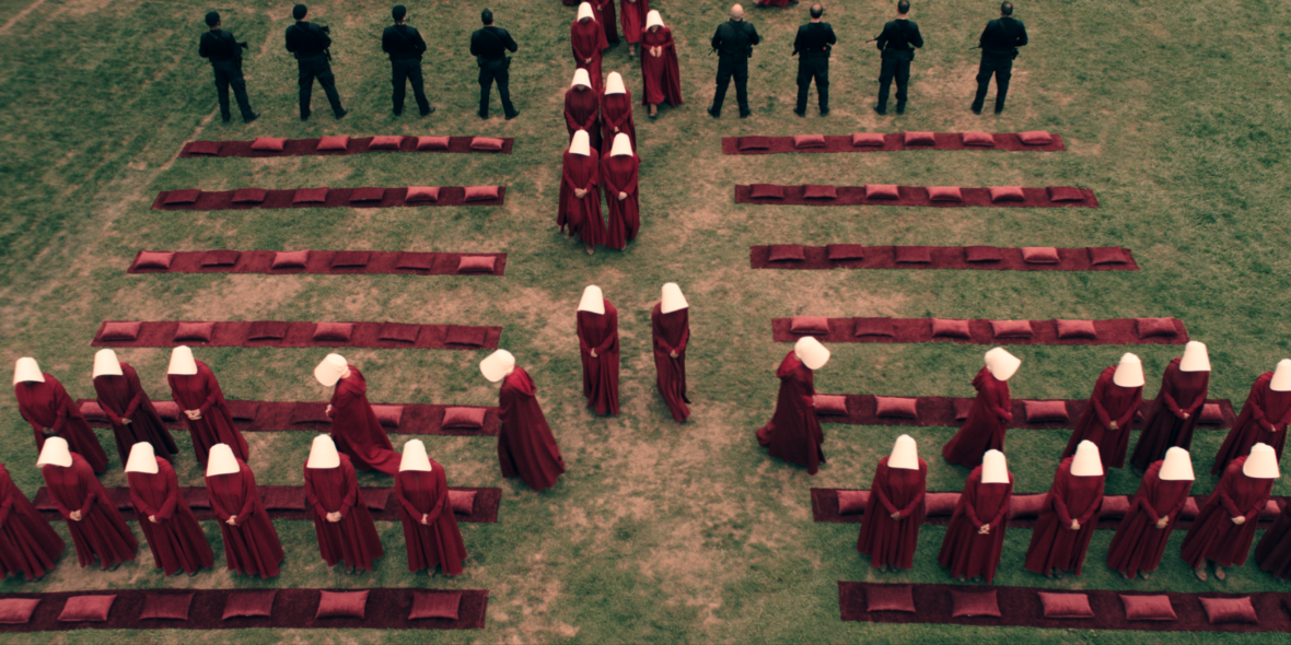 The Frightening Realism of 'The Handmaid's Tale' Is Inspiring Costumed Protests and A Lot of Freaking Out
