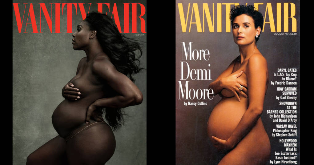 Serena Williams Pregnancy Shoot May Never Have Happened Without Demi Moores Trailblazing -1392