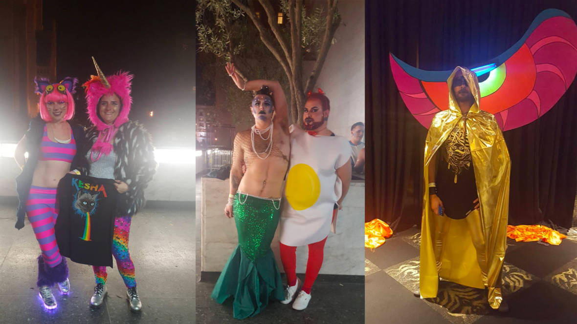 As gatherings of sparkly flamboyant humans go there are few places that will ever be as extra as a Kesha live show. Except of course when that Kesha ... & Here are the Greatest Fan Costumes From Keshau0027s Halloween Show ...