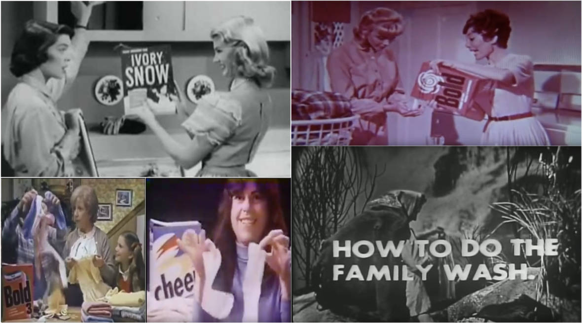 The Extraordinarily Sexist History of Laundry Detergent Commercials